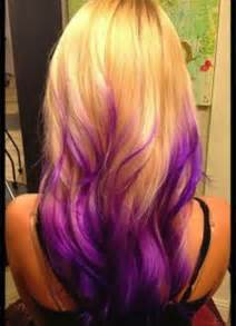 hair underneath pictures blonde hair with purple underneath pictures
