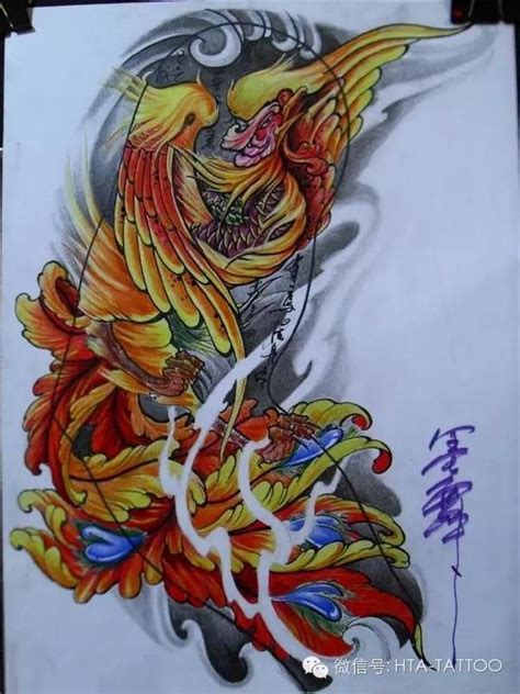 pin by tao on traditional pinterest tattoo phoenix