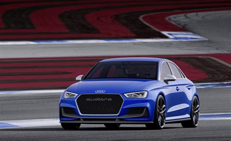Audi A3 Clubsport by Audi Hints At New Rs 3 With A3 Clubsport Quattro Concept