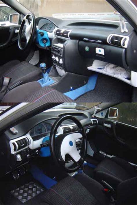 tuning interior coche pintar interiores coche tuningpedia org