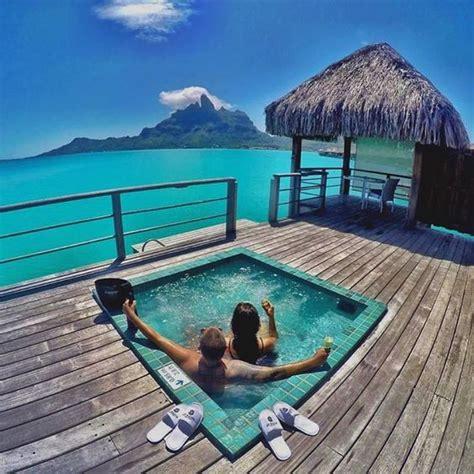 Couples Inn Couples Goals At The St Regis Resort In Bora Bora