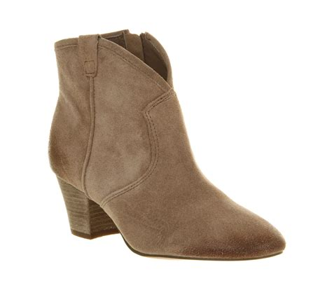 womens ash spiral ankle boot vision suede boots ebay