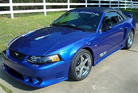 blue saleen mustang sonic blue 2004 saleen s281 sc ford mustang convertible
