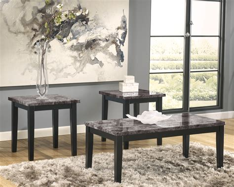 Charming Pottery Barn Table And Chairs #4: Ashley-furniture-coffee-and-end-tables-appealing-decal-three-piece-leaves-on-vase-grey-fur-carpet-abstract-image-pinterest.jpg