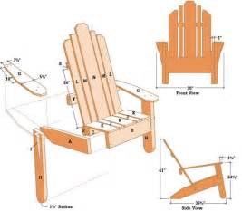 Free Plans To Build Adirondack Chairs by Adirondak Chair Table Diy Wood Projects