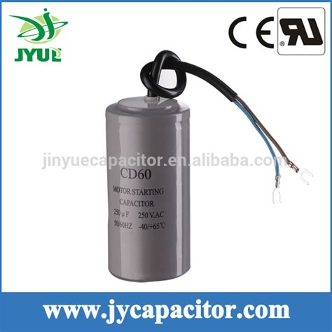 100uf variable capacitor 250v aluminum electrolytic capacitor single phase capacitor motors from wenling jiayang