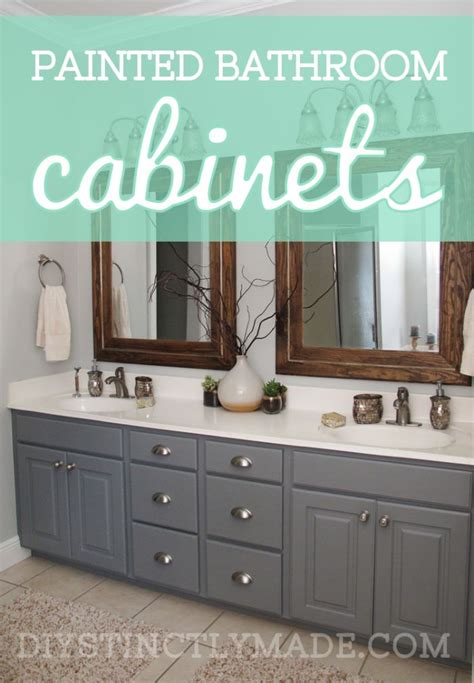 25 best ideas about painting bathroom cabinets on