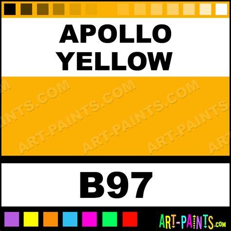 apollo colors apollo yellow graffiti spray paints aerosol decorative