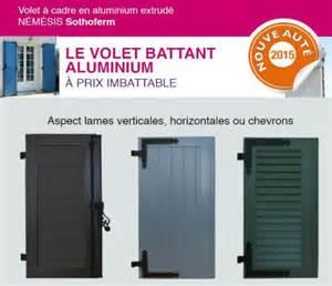Volet Battant Aluminium Prix