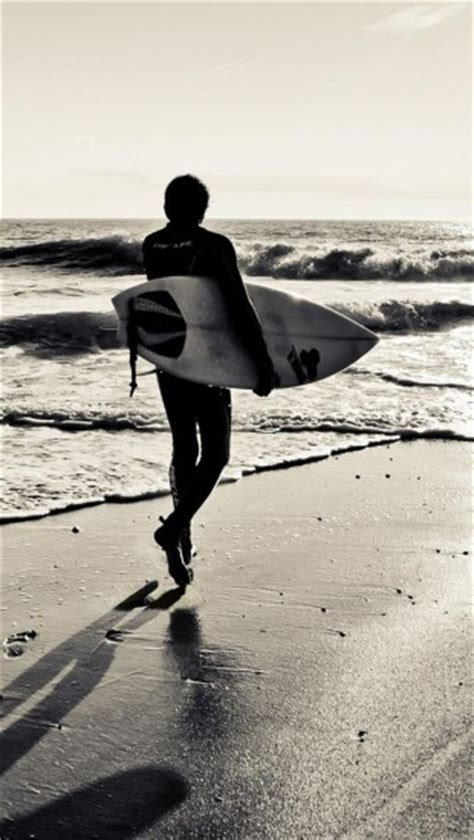 surf wallpaper black and white surfing surfboard beaches ocean the iphone wallpapers