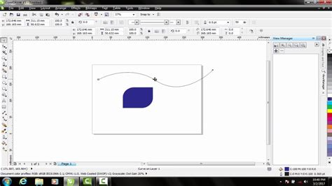 coreldraw tutorial for beginners logo design with coreldraw x4 coreldraw tutorials