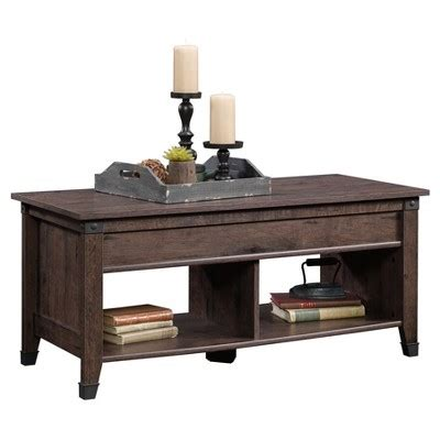 lift top coffee table target carson forge lift top coffee table coffee oak sauder target