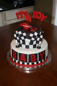 Race car baby shower