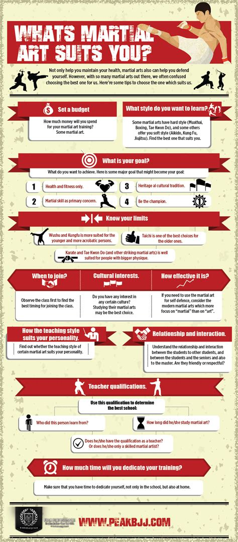 infographic art what s your style of martial arts infographics graphs net
