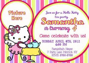 free printable hello kitty birthday party invitations drevio invitations design