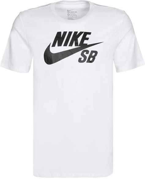 T Shirt Nike Logo White nike sb logo t shirt white