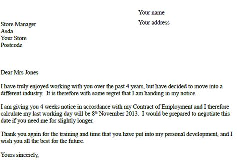 1 week notice resignation letter sle notice letter pictures gt gt step 3 print pre notice