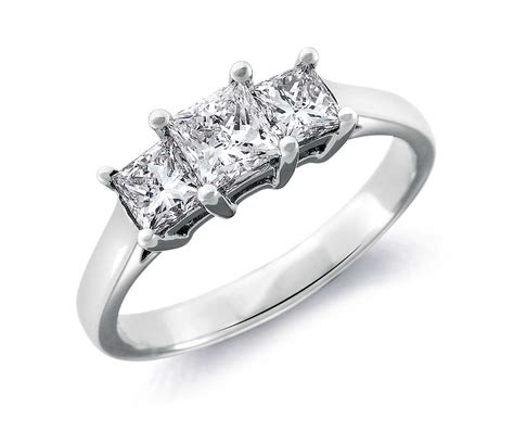 princess cut 1ct rings wedding promise