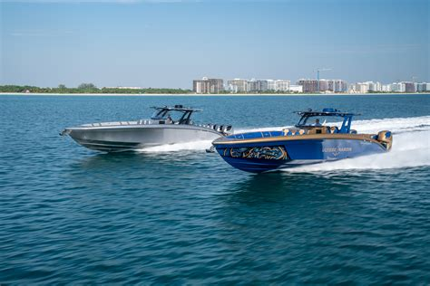 midnight express boats midnight express powerboats at fort lauderdale