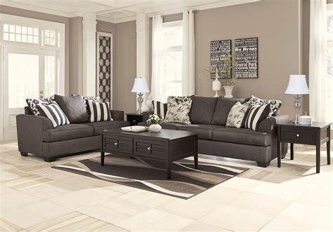 levon charcoal sofa set lexington overstock warehouse