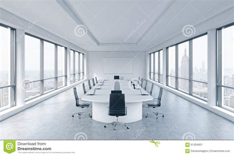 Room And Board Nyc Sale by A Bright Modern Panoramic Meeting Room In A Modern Office