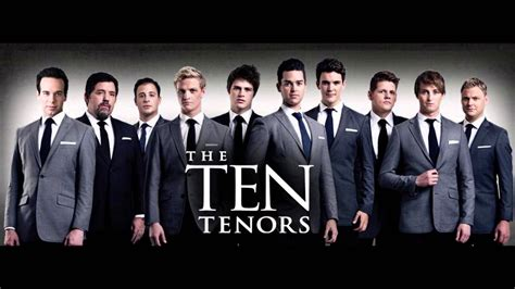 Teh Tehan the ten tenors with luke kennedy somebody to