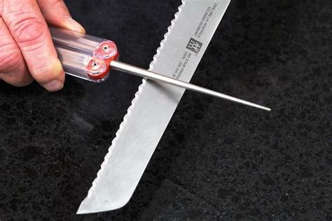 how to sharpen a stainless steel blade 25 best ideas about sharpen serrated knife on