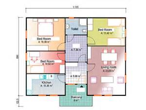 Prefabricated Floor Plans 11 35 215 10 12m 3rooms 1living and dinning room 1kitchen 1toilet 11 35