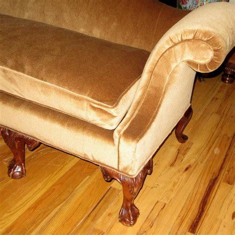 philadelphia upholstery philadelphia chippendale silk mohair and mahogany