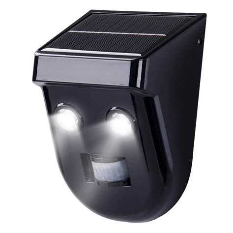 ecothink solar 1 5 watt 120 degree black motion activated