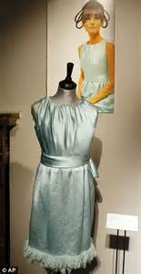 Dress Worn By Hepburn Sold For 920000 by Hepburn S Givenchy Couture Collection Sold At