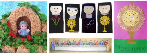catholic craft projects catholic crafts for free