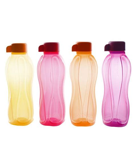1000 Images About Tupperware tupperware aquasafe bottles set of 4 500 ml buy at best price in india snapdeal
