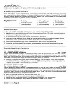 Business Development Sample Resume pick for vice president of business development resume development