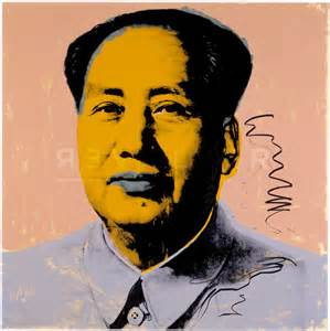 mao 92 andy warhol