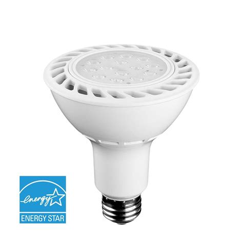 par30 led flood light bulbs euri lighting 75w equivalent warm white par30 dimmable led