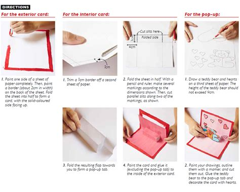 steps to make pop up cards how to make a pop up card in 7 steps world