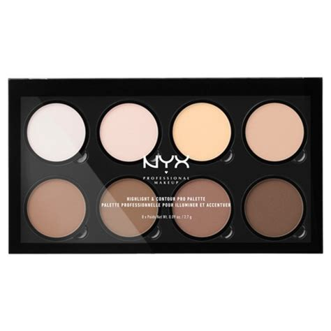 Nyx Pro Pro Contour Concealer Highlighter 15 Color nyx professional 174 makeup highlight contour pro palette 0 09oz target