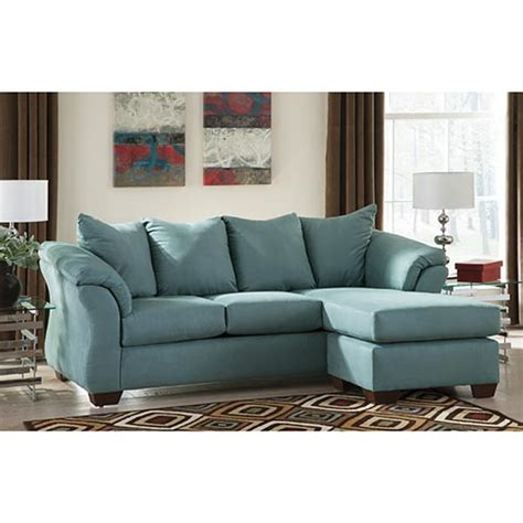 signature design by darcy sofa chaise rent to own darcy sky sofa chaise