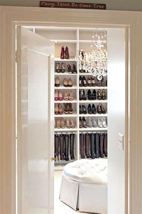 Shoe Closet With Doors Walk In Closet With Paneled Bi Fold Wardrobe Closet Doors Transitional Closets 101 Brouwer Interior Design