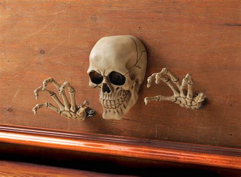 home decor skulls skeleton through the wall decor 10017295 mythical decor