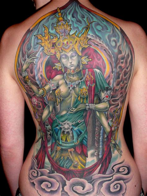 tattoo aftercare myths backpiece mythology religious spiritual tattoo slave to