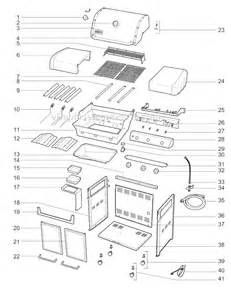 replacement weber grill parts weber 6650001 parts list and diagram ereplacementparts