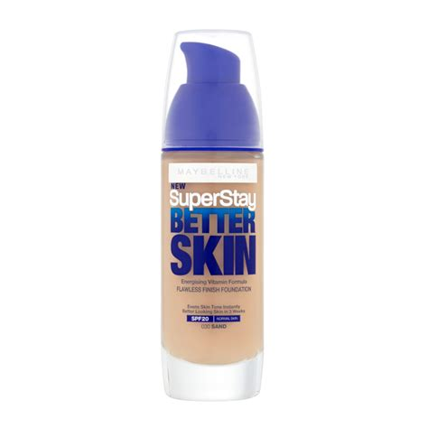 Maybelline Superstay Better Skin Foundation maybelline new york superstay better skin foundation 30ml