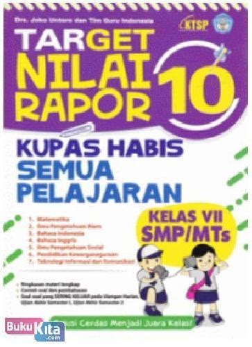Target Nilai 10 Rapor Kupas Tuntas Semua Pelajaran Bukukita Target Nilai Rapor 10 Kupas Tuntas Semua