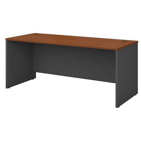 Maple Reception Desk Bush Bbf Series C 4 Pc L Shape Computer Auburn Maple Reception Desk Ebay