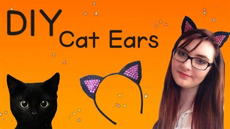 How To Make Cat Ears With Paper - diy cat ears for