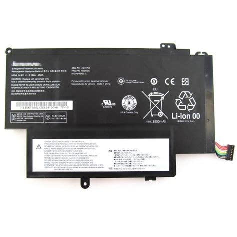 Lenovo S1 Battery For Laptop genuine lenovo thinkpad s1 45n1704 45n1707 45n1705
