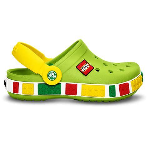 lego shoes crocs crocband lego shoe volt green yellow all the