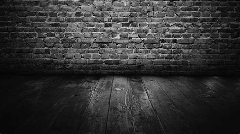 dark brick wall black brick wallpaper